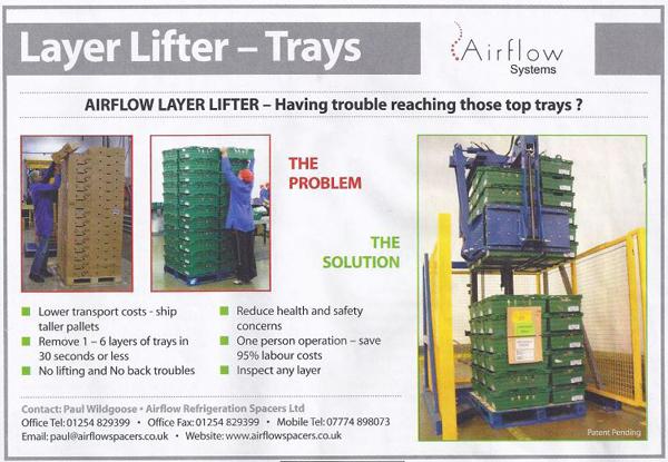 Press Release | Airflow Pallet Inverters