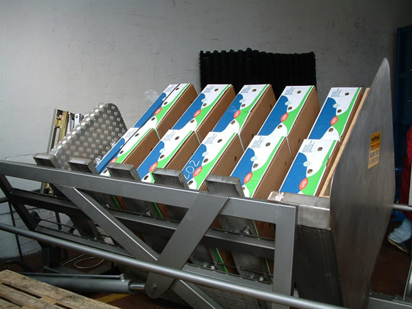 Pallet Inverter SR2LC | 90 Degree Pallet Exchanger | Freezer Spacer